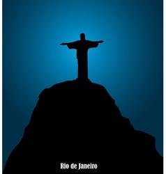 Monument in Brazil vector image