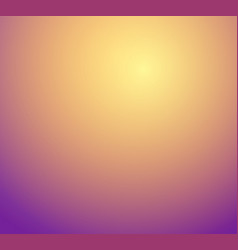 orange yellow gold purple blur gradient studio vector image