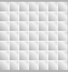 abstract grey tech squares minimal background vector image