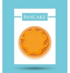 bakery food menu icon vector image