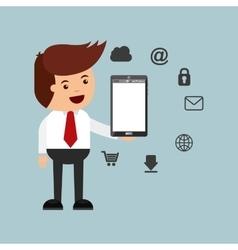 Businessman activity design vector