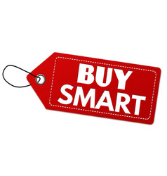 buy smart label or price tag vector image