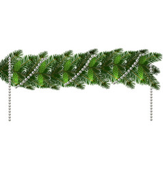 christmas new year s decorations in the form of vector image