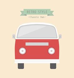 classicvan vector image