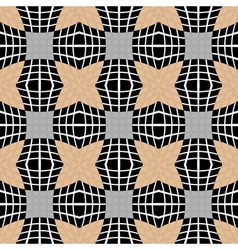 Design seamless checked pattern vector