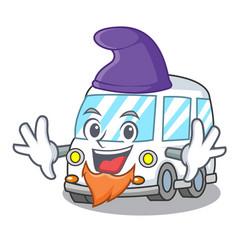 Elf ambulance character cartoon style vector