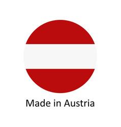 Made in austria vector