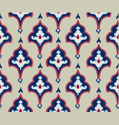 oriental tile ornament abstrcat geometric retro vector image