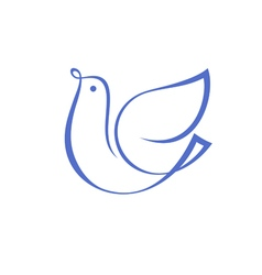 original bird as any symbol vector image