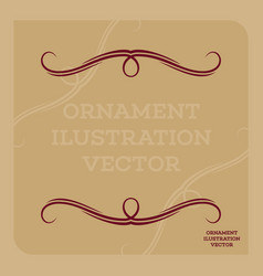Ornament illustration vector