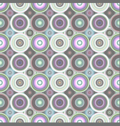 Repeating circle pattern - background graphic vector