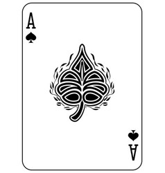ace of spades vector image
