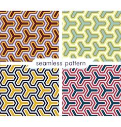 seamless pattern set 10 vector image
