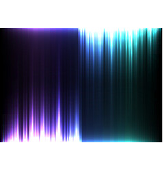 light stream of purple and blue upside down vector image vector image