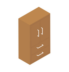 Clothing cupboard vector
