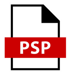File name extension psp type vector