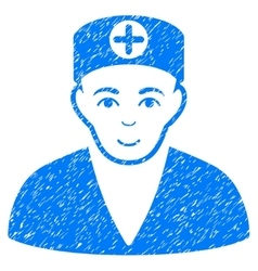 Medic Grainy Texture Icon vector