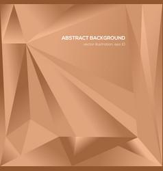 Orange triangle geometrical background vector
