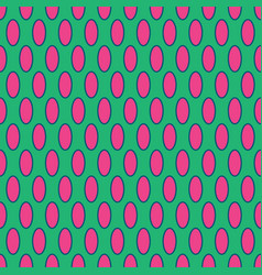 oval geometric seamless pattern 2001 vector image