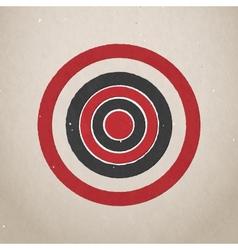 Paper target vector image