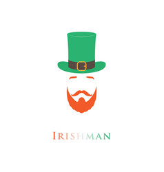 people ireland icon vector image