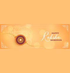 Rakshabandhan festival celebration beautiful vector