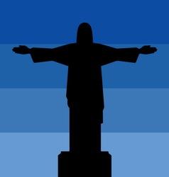 Rio de jeneiro icon sky vector
