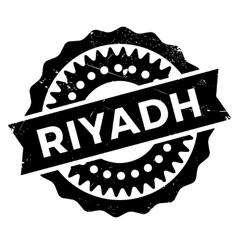 Riyadh stamp rubber grunge vector