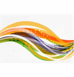 flowing abstract background vector image