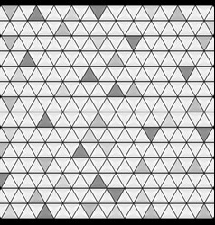 abstract grey glossy triangles texture background vector image