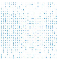 Background with digits on screen binary code zero vector