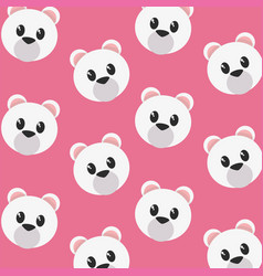 bear cartoon design vector image