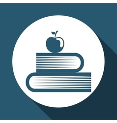 book editable icon vector image
