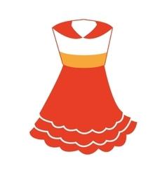 Classic ethnic costume icon vector