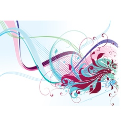 color abstraction vector image vector image