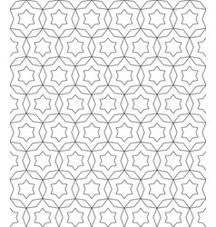 delicate ornamental linear background vector image