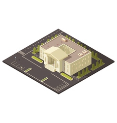 Government building concept vector