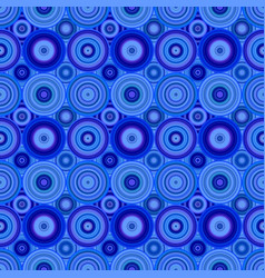 Seamless abstract circle mosaic pattern background vector
