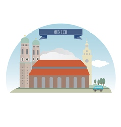 Munich vector image vector image