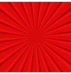 Red abstract rays circle background vector image vector image