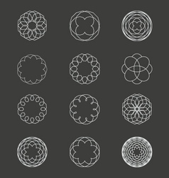 Spiral Patterns vector image vector image