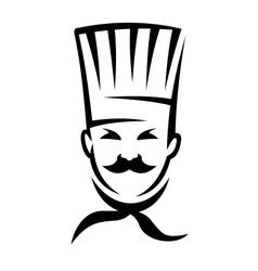 German cuisine chef vector image