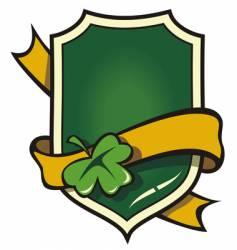 Irish symbol vector image vector image