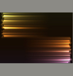 warm tone opposite side abstract bar line vector image vector image