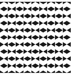 abstract black bow tie pattern image vector image