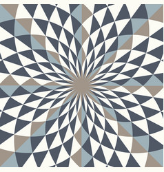 Abstract geo pattern diamond shapes in vortex vector