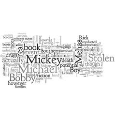 Book review stolen boy michael mehas vector