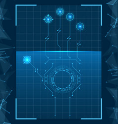 Fingerprint scanner authentication vector