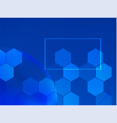 geometric abstract medical background vector image
