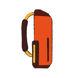 Golf bag icon image vector